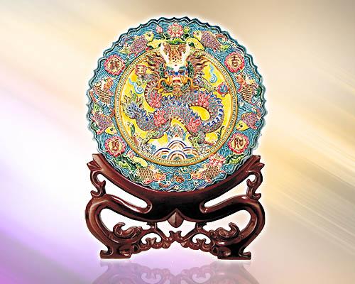 SY-B01鯉魚龍盤