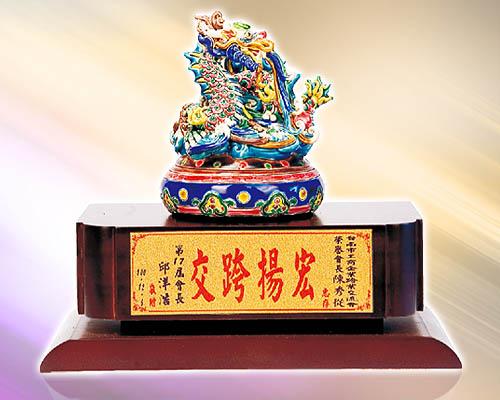 SY-B12祥龍獻瑞(印泥盒)