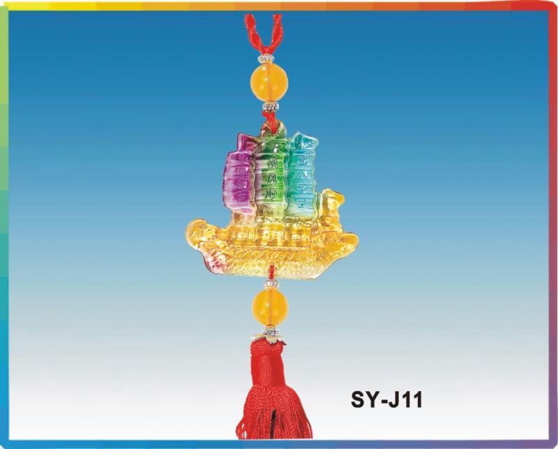 SY-J11一帆風順(琉璃吊飾)