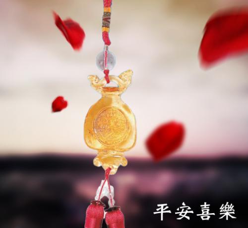 SY-J16琉璃平安吊飾